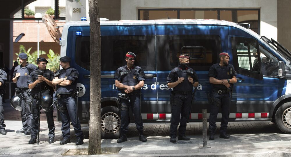 Mossos d'Esquadra, la policía autonómica catalana (archivo)