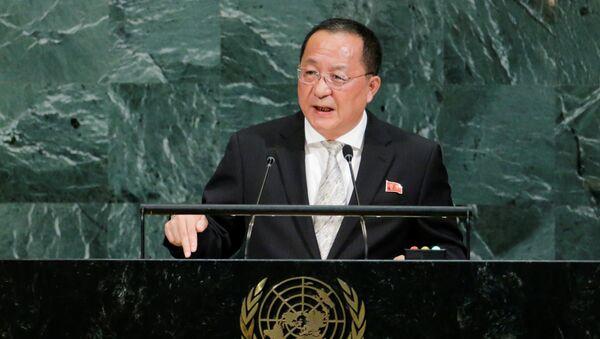 Ri Yong-ho, canciller norcoreano - Sputnik Mundo