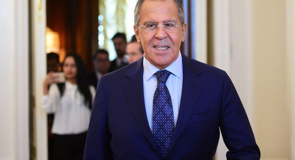 El canciller ruso Serguéi Lavrov (archivo)