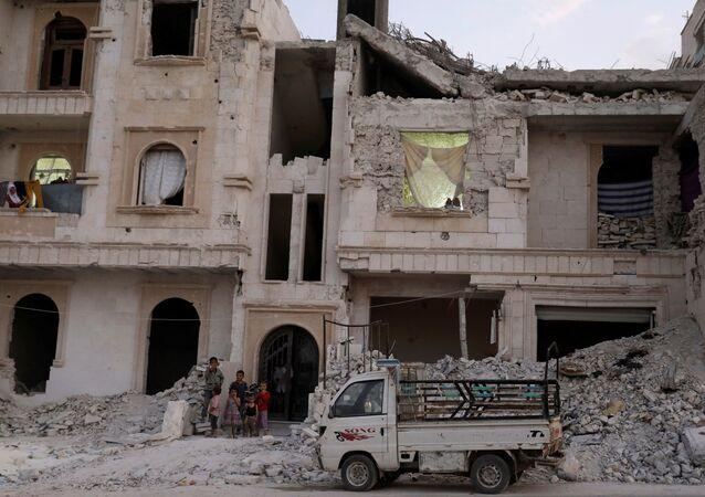 Al-Bab, Siria (archivo)