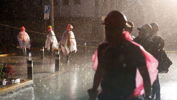 Socorristas en la Ciudad de México - Sputnik Mundo