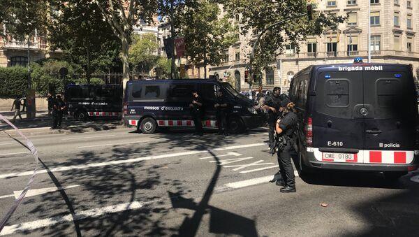 Mossos d'Esquadra, la policía catalana (archivo) - Sputnik Mundo