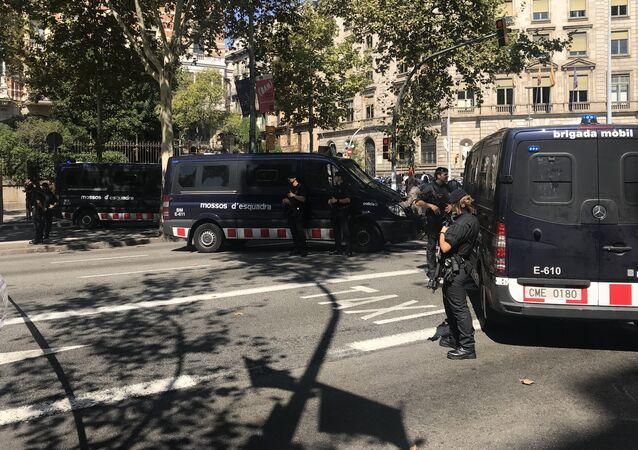 Mossos d'Esquadra, la policía catalana (archivo)