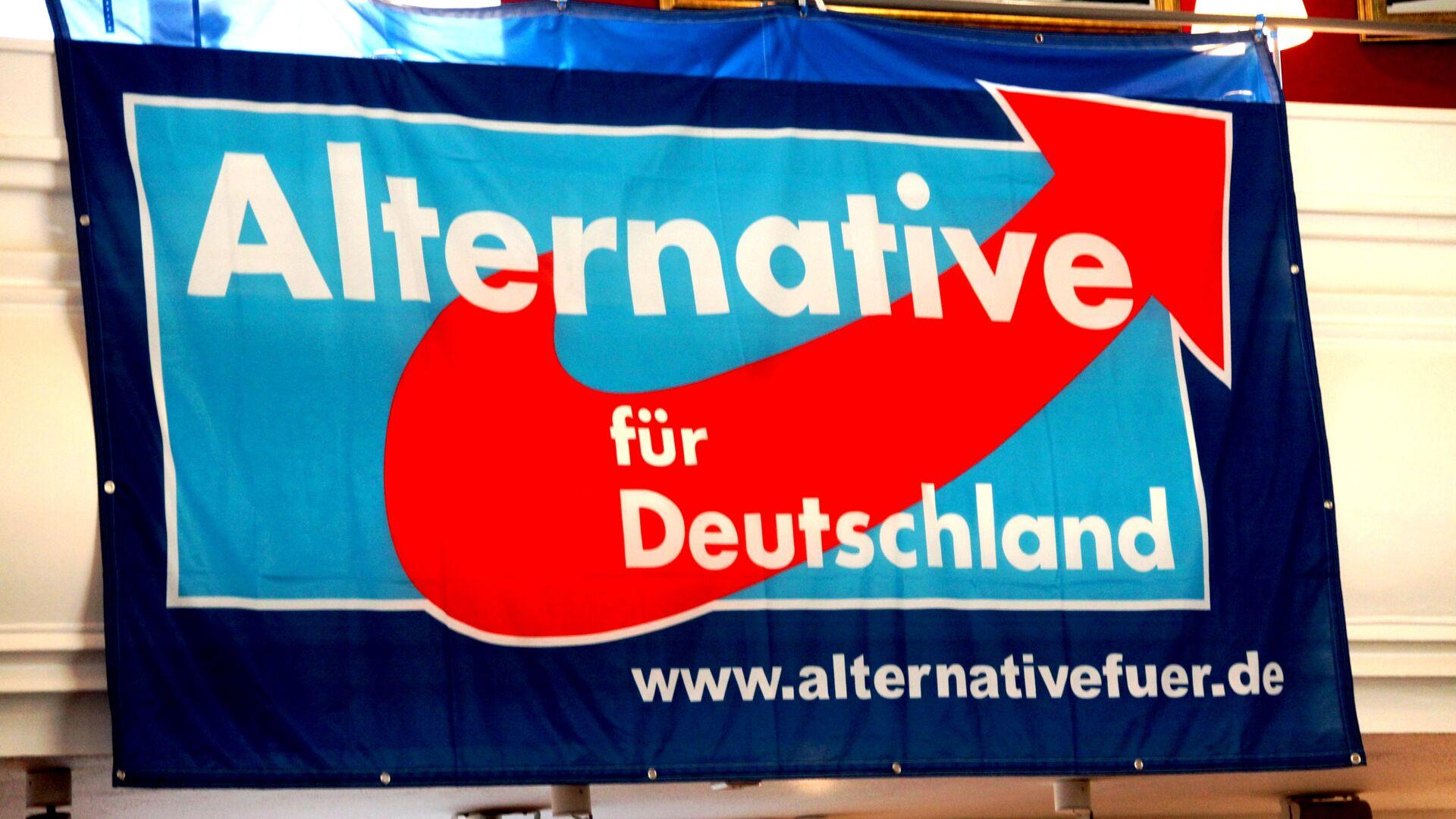 Logo del partido Alternativa para Alemania (AfD) - Sputnik Mundo, 1920, 03.03.2021