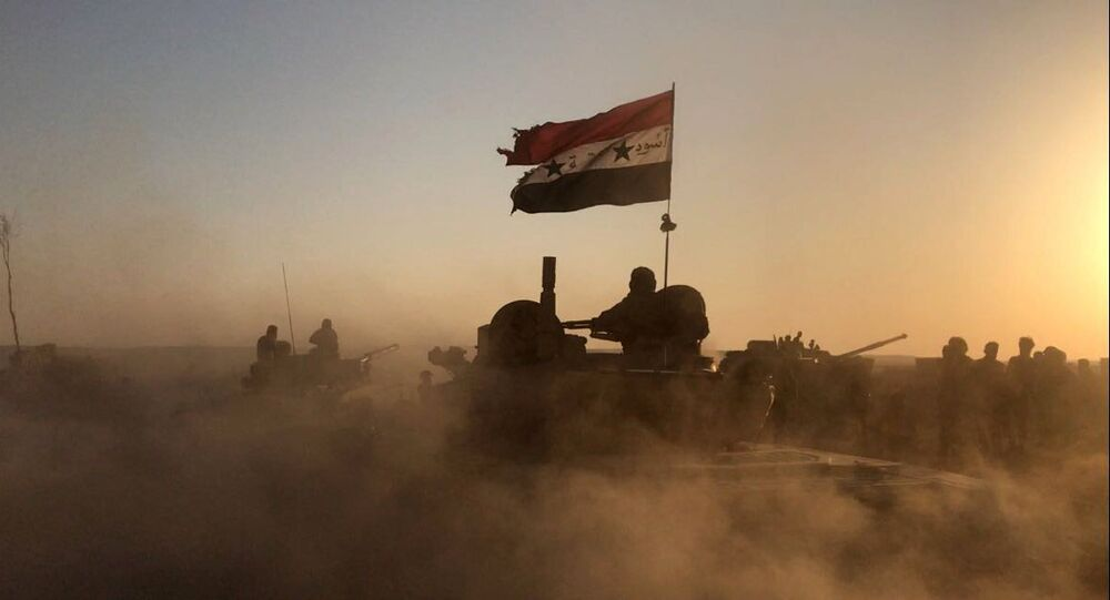 La situación en Deir Ezzor, Siria (archivo)