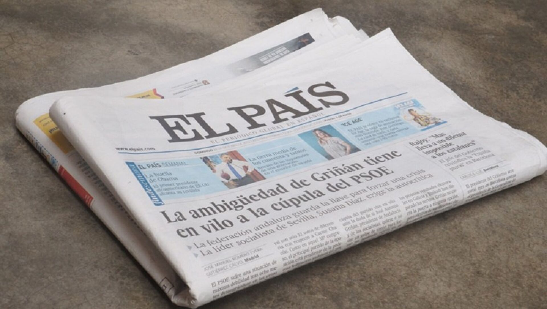 Un periódico de El País - Sputnik Mundo, 1920, 25.09.2017