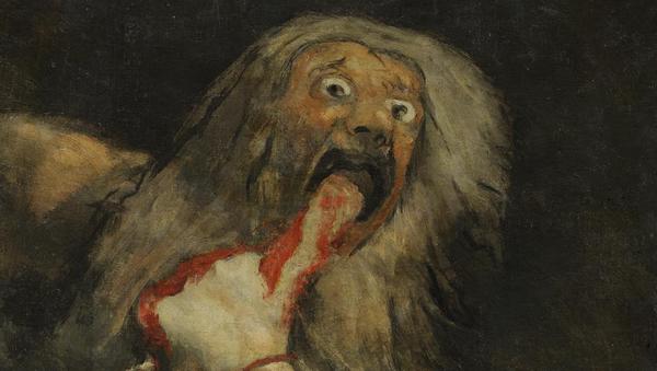 Saturno devorando a su hijo, de Francisco de Goya (1819-1823) - Sputnik Mundo