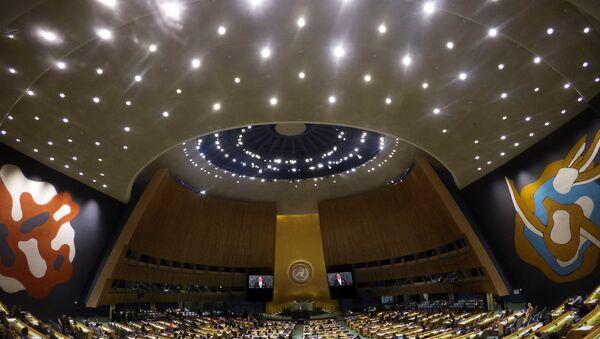 Asamblea General de la ONU - Sputnik Mundo