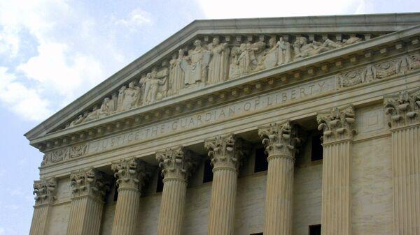Corte Suprema de EEUU en Washington (imagen referencial) - Sputnik Mundo
