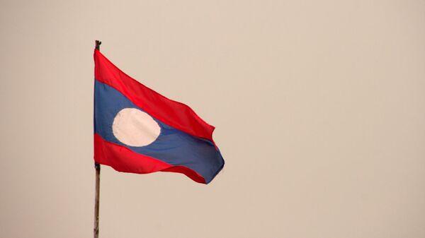 La bandera de Laos - Sputnik Mundo