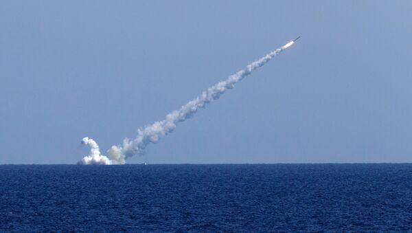 Lanzamiento de misiles Kalibr - Sputnik Mundo