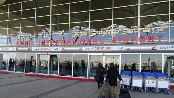 El aeropuerto internacional de Erbil, Kurdistán iraquí - Sputnik Mundo