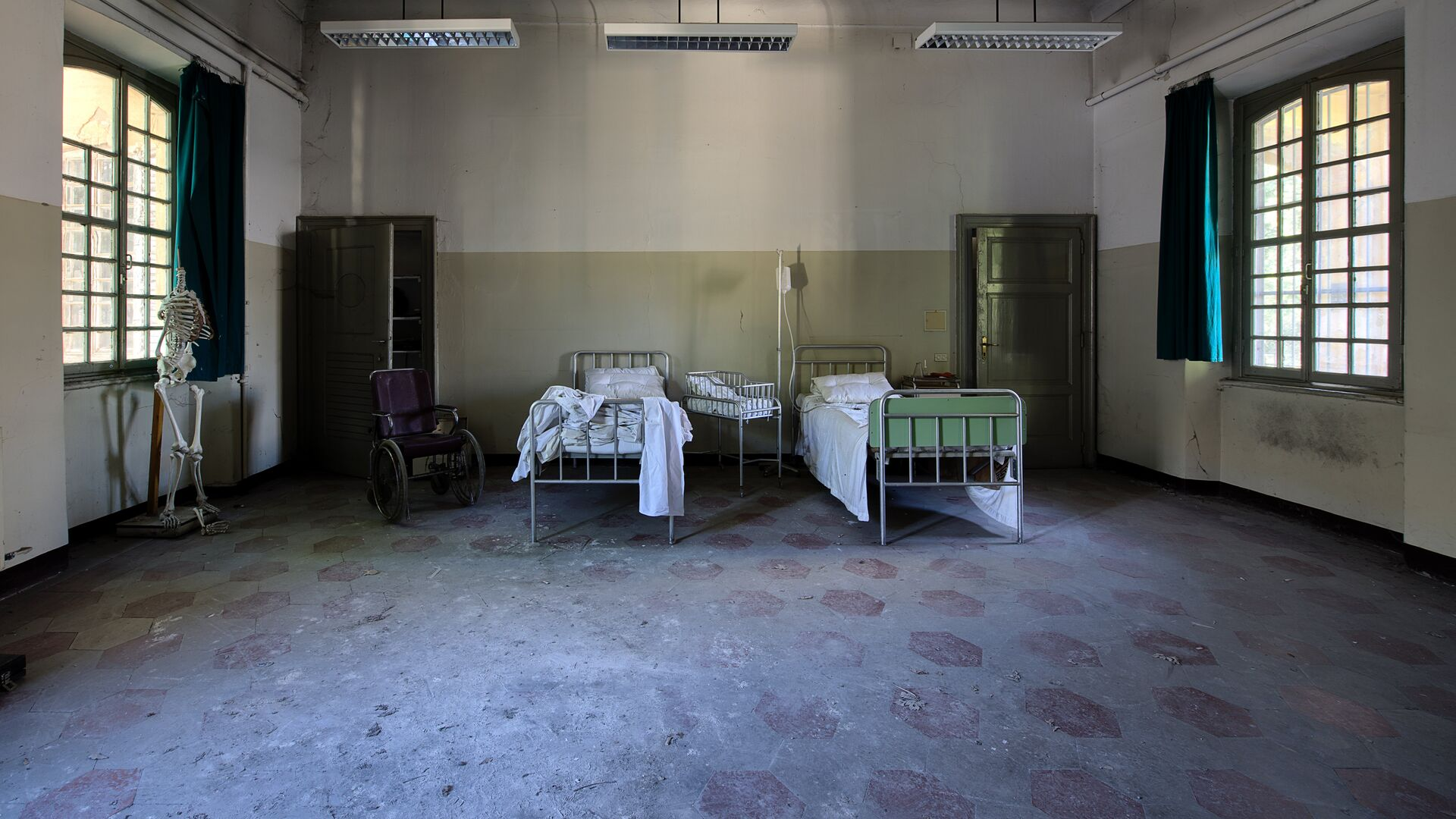 Un hospital (imagen referencial) - Sputnik Mundo, 1920, 16.07.2021