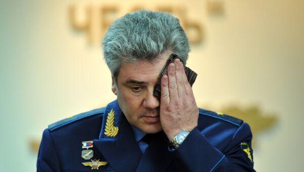 El comandante de la Fuerza Aeroespacial rusa, Víctor Bóndarev - Sputnik Mundo