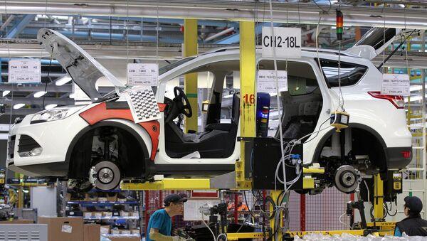 La fábrica Ford Sollers en la república de Tartaristán - Sputnik Mundo