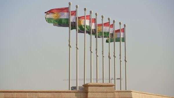 Banderas de Kurdistán iraquí - Sputnik Mundo