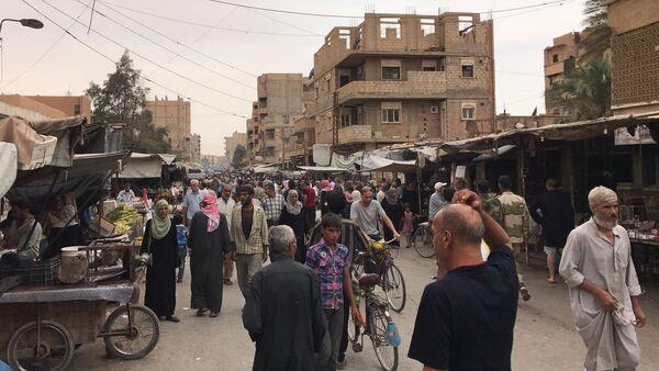 La ciudad siria de Deir Ezzor - Sputnik Mundo
