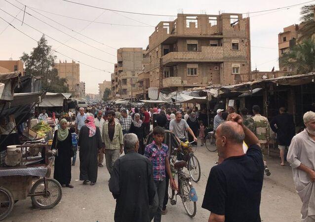 La ciudad siria de Deir Ezzor (archivo)