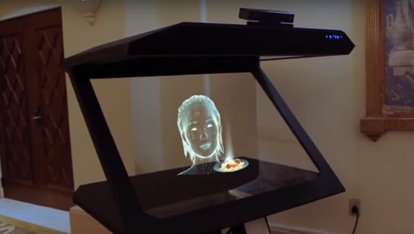 El holograma inteligente desarrollada por VNTANA y Satisfi - Sputnik Mundo
