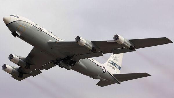Avión estadounidense OC-135B Cielos Abiertos - Sputnik Mundo