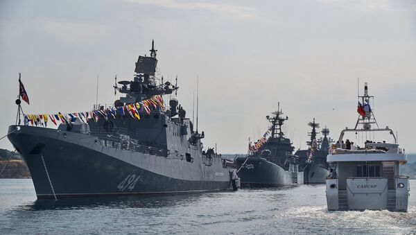 La fragata Almirante Grigorovich - Sputnik Mundo