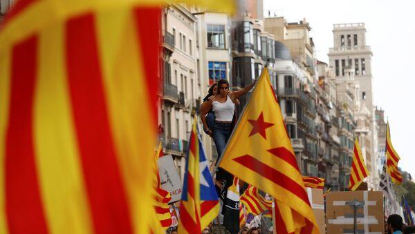 Referéndum de independencia de Cataluña (imagen referencial) - Sputnik Mundo