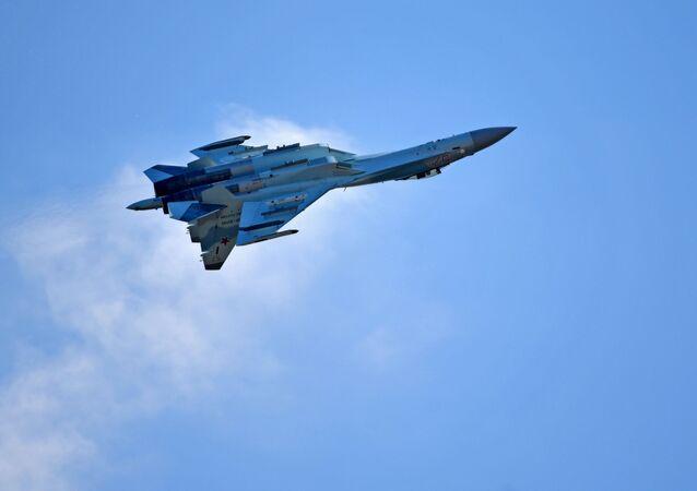 El caza ruso Su-35S