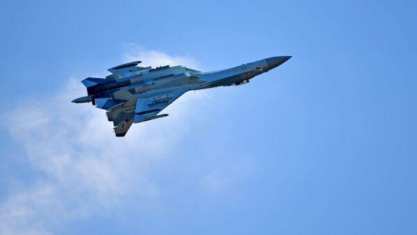 El caza ruso Su-35S - Sputnik Mundo