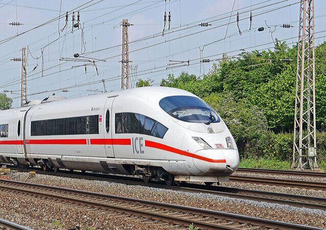 Un tren de Siemens en Alemania (archivo)