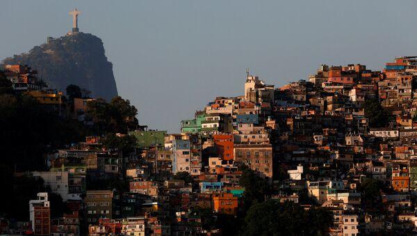 Favela Rocinha de Río de Janeiro - Sputnik Mundo