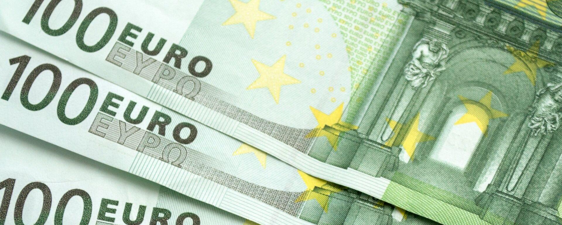 Euros (imagen referencial) - Sputnik Mundo, 1920, 28.04.2021