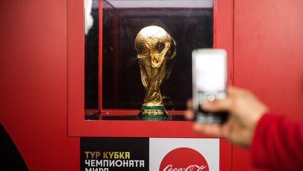 Símbolo de Copa Mundial de Fútbol de 2018 - Sputnik Mundo