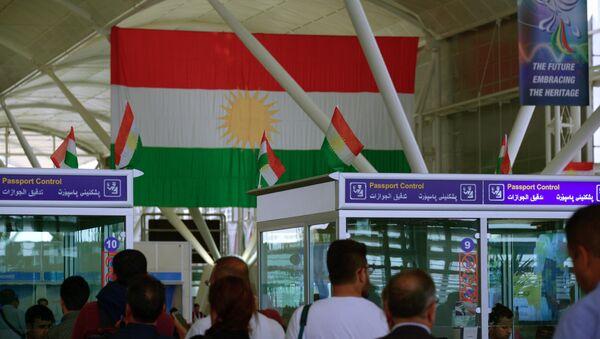 Aeropuerto internacional de Erbil, Kurdistán iraquí - Sputnik Mundo