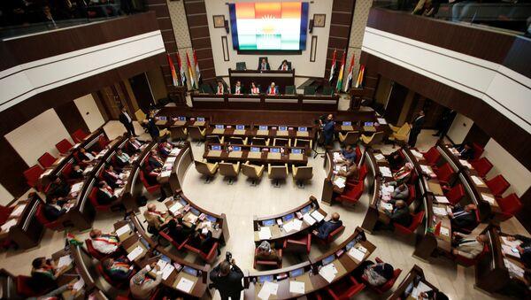 El Parlamento del Kurdistán iraquí en Erbil - Sputnik Mundo