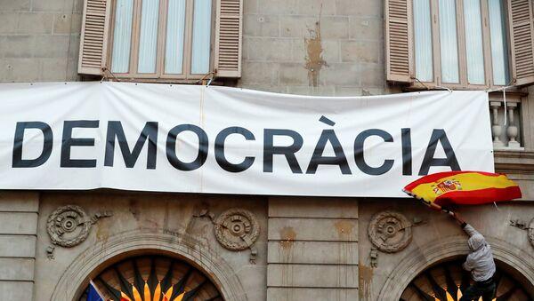 Situación en Barcelona, Cataluña - Sputnik Mundo