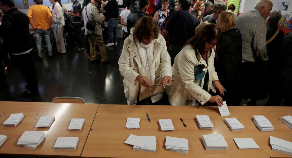 El referéndum en Cataluña