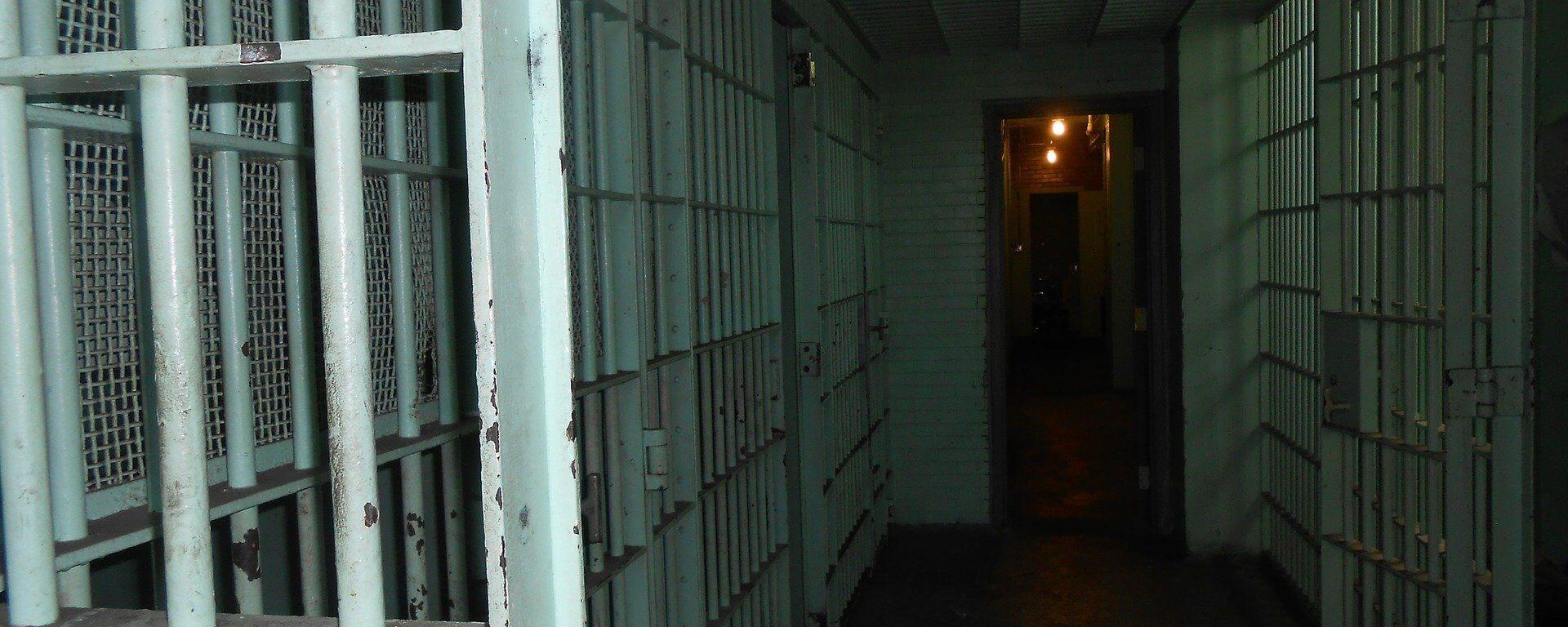 El pasillo de una cárcel (imagen referencial) - Sputnik Mundo, 1920, 21.05.2021