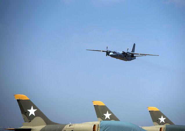 Un avión An-26 (archivo)
