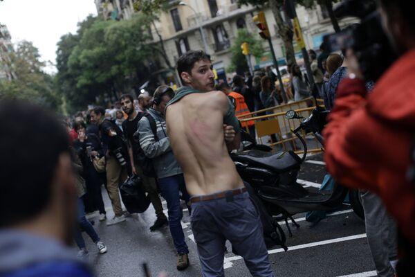 Cataluña y el 1-O: un referéndum a 'moretones' - Sputnik Mundo