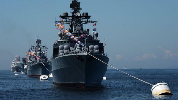 El buque Almirante Vinogradov - Sputnik Mundo