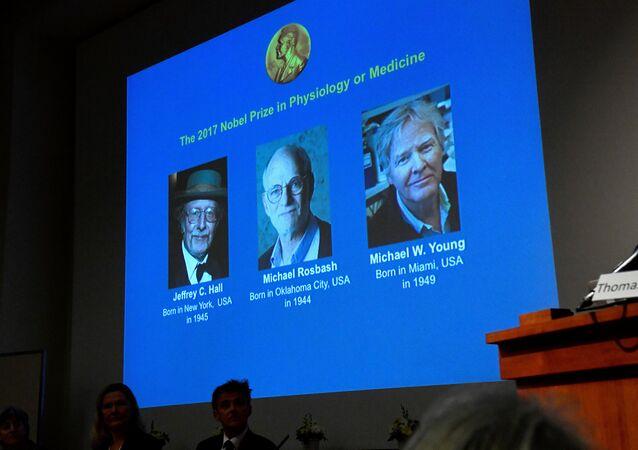 Los ganadores del Premio Nobel de Fisiología o Medicina 2017