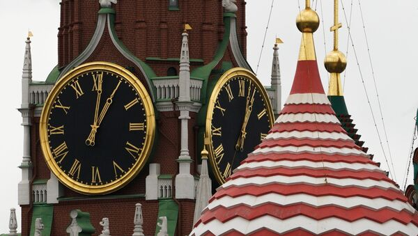 El reloj del Kremlin de Moscú, Rusia - Sputnik Mundo