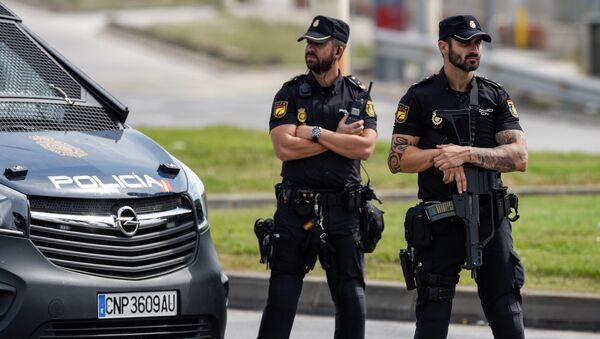 Policía nacional española - Sputnik Mundo