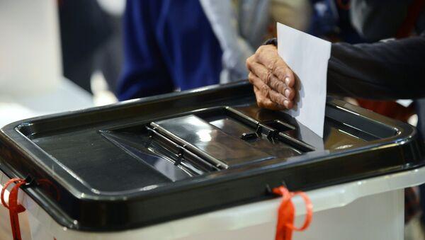 Una urna de votación (imagen referencial) - Sputnik Mundo