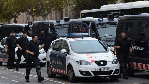 Policía Nacional española (archivo) - Sputnik Mundo