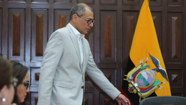 Jorge Glas, el vicepresidente de Ecuador - Sputnik Mundo