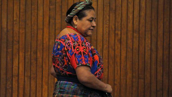 Rigoberta Menchú, Premio Nobel de la Paz - Sputnik Mundo