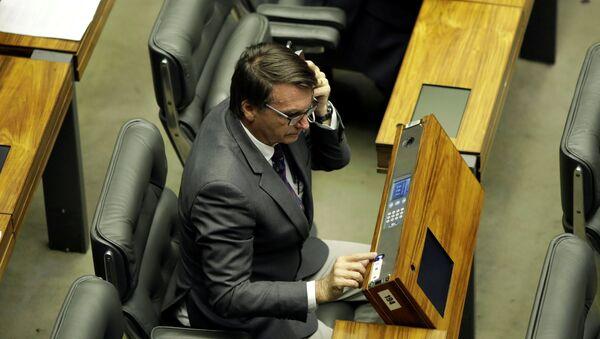 Jair Bolsonaro, diputado brasileño - Sputnik Mundo
