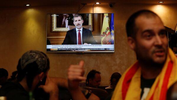 El discurso del Rey de España Felipe VI - Sputnik Mundo