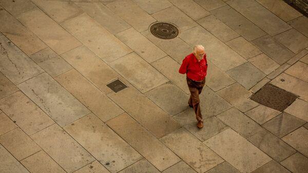 Un anciano (archivo) - Sputnik Mundo